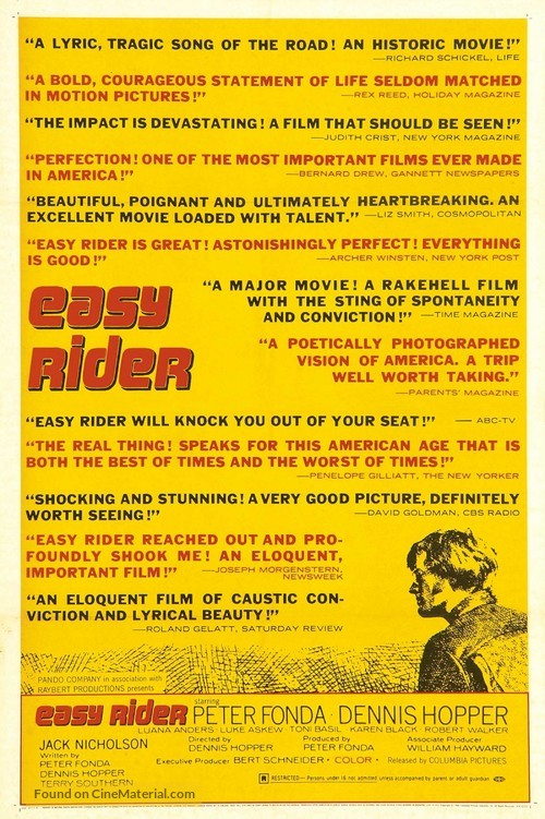 Easy Rider - Movie Poster