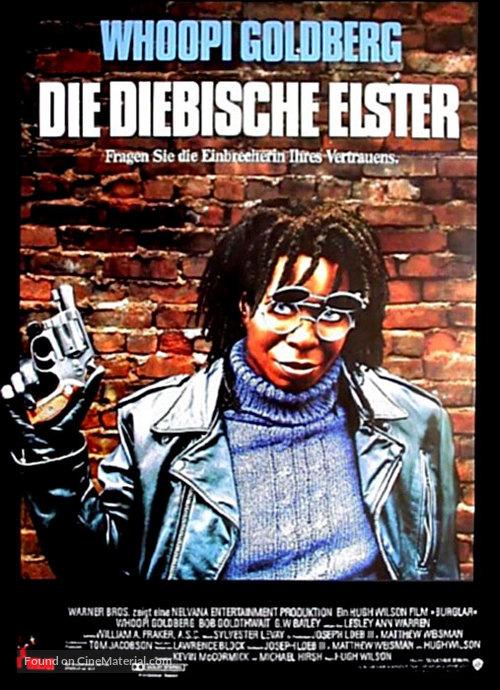 Burglar - German poster