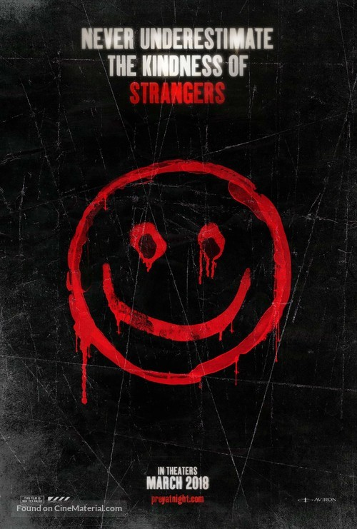 The Strangers: Prey at Night - Teaser movie poster