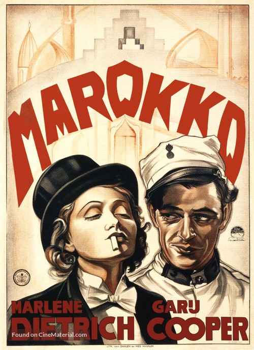 Morocco - Dutch Movie Poster