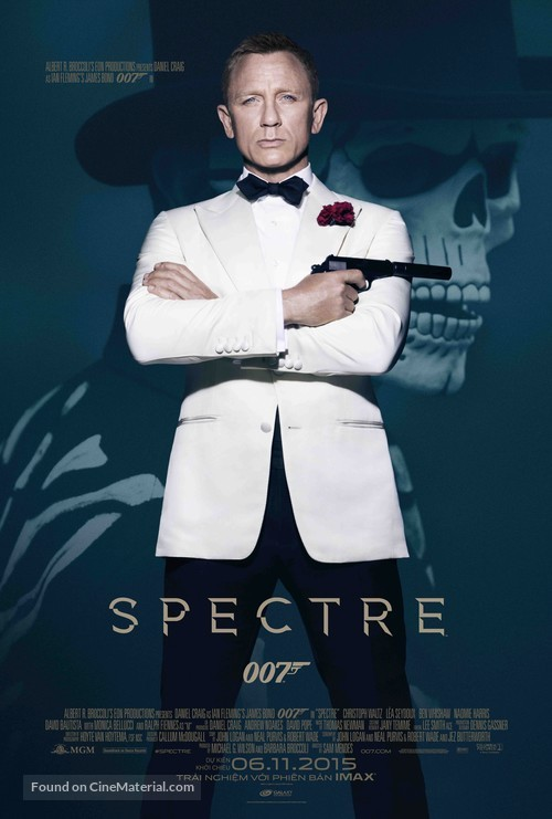 Spectre - Vietnamese Movie Poster
