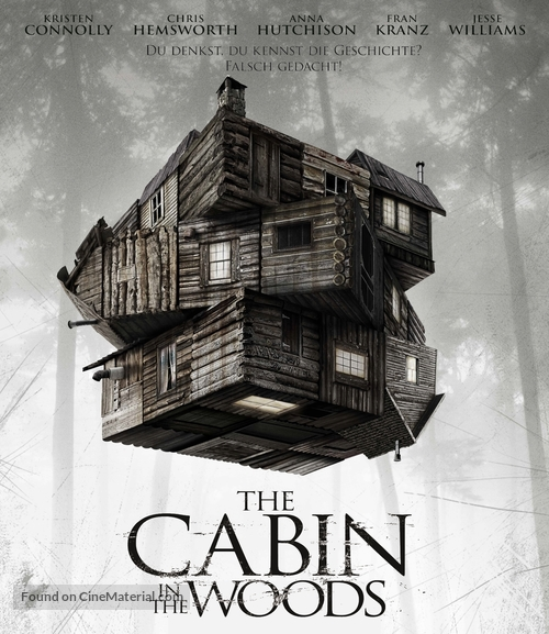 The Cabin in the Woods - German Blu-Ray movie cover