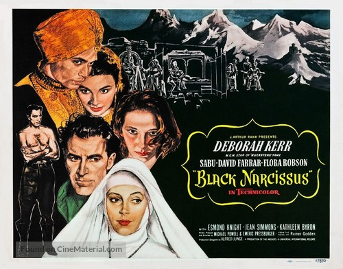 Black Narcissus - Movie Poster
