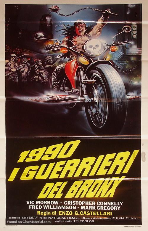 1990: I guerrieri del Bronx - Italian Movie Poster