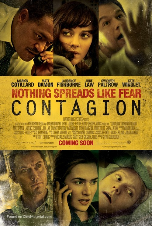 Contagion - British Movie Poster