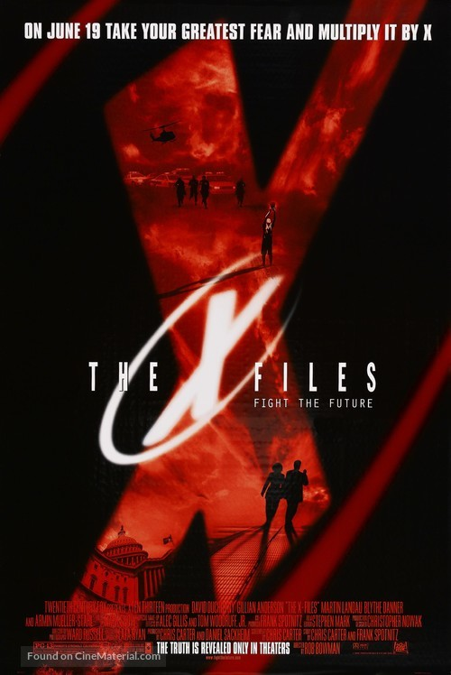 The X Files - Advance poster