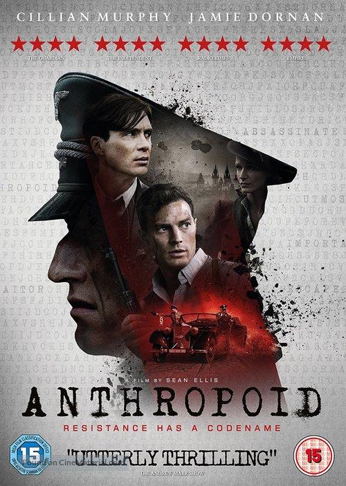 Anthropoid - British DVD movie cover