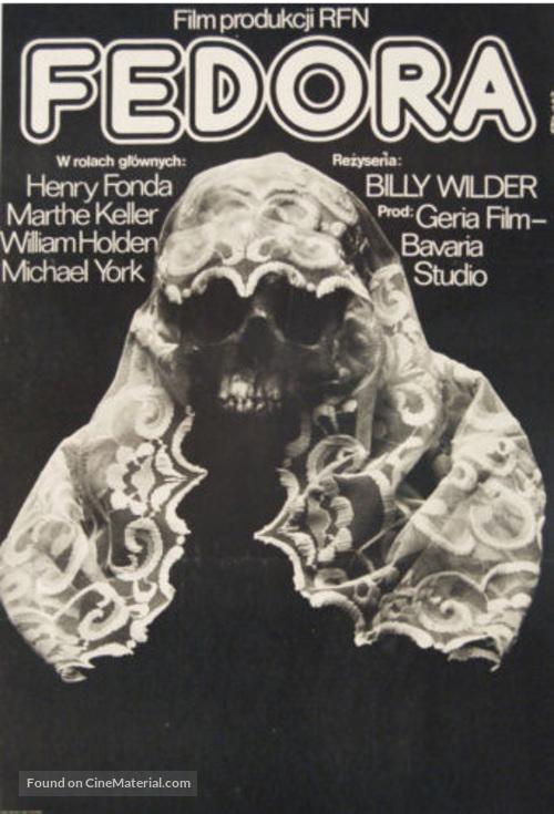 Fedora - Polish Movie Poster