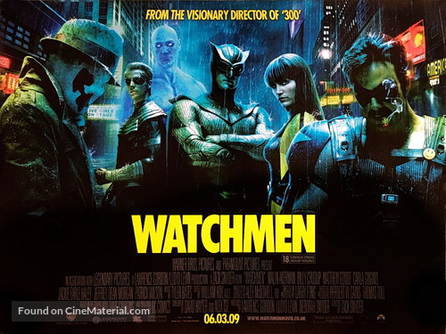 Watchmen - British Movie Poster