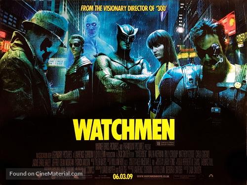 Watchmen - British Movie Poster