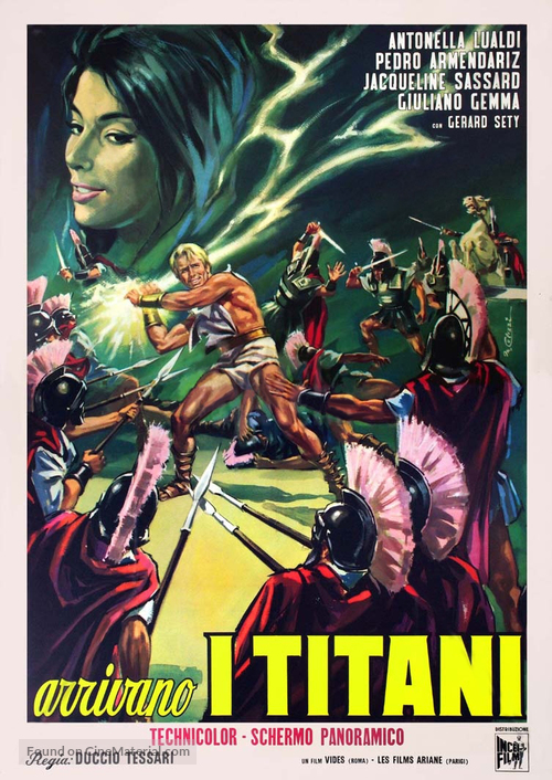 Arrivano i titani - Italian Movie Poster