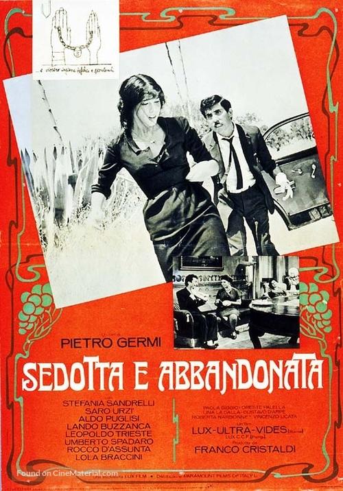Sedotta e abbandonata - Italian Movie Poster