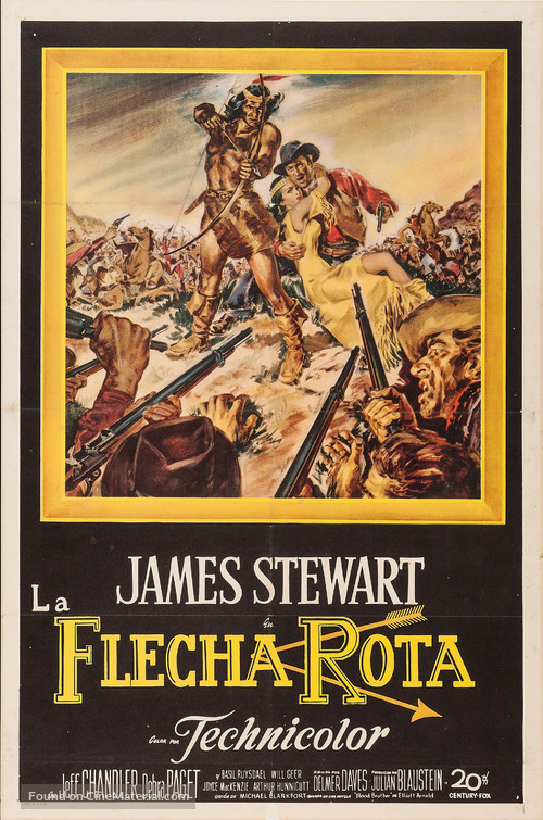 Broken Arrow - Argentinian Movie Poster
