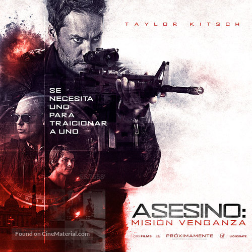 American Assassin - Argentinian Movie Poster