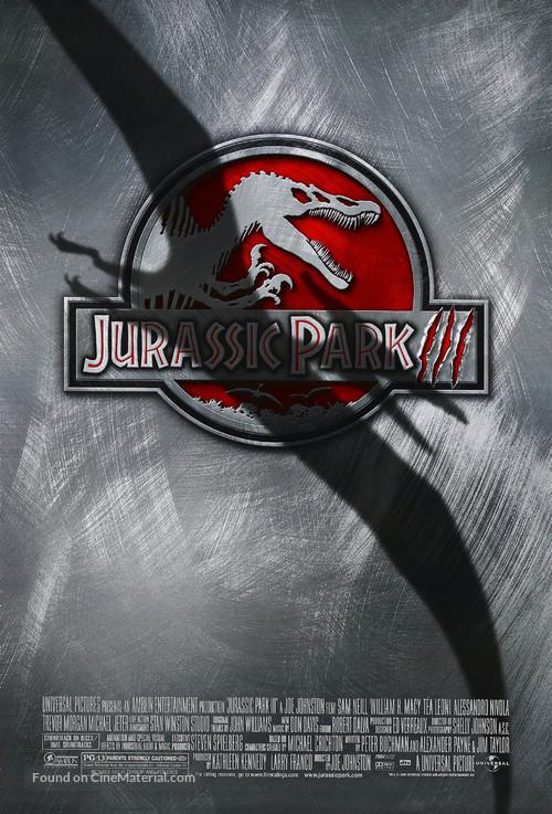 Jurassic Park III - Movie Poster