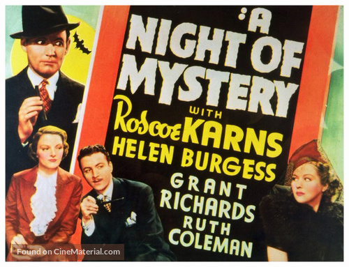 Night of Mystery - Movie Poster