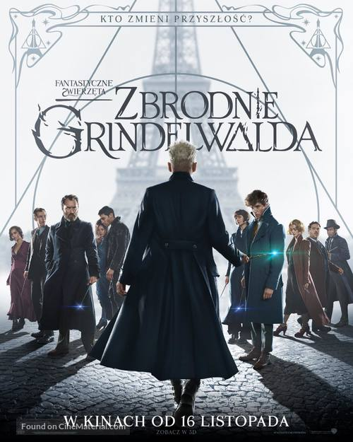 Fantastic Beasts: The Crimes of Grindelwald - Polish Movie Poster