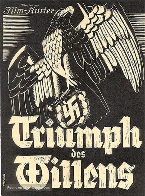 Triumph des Willens - German Movie Poster