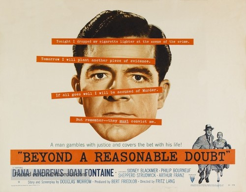 Beyond a Reasonable Doubt - Movie Poster
