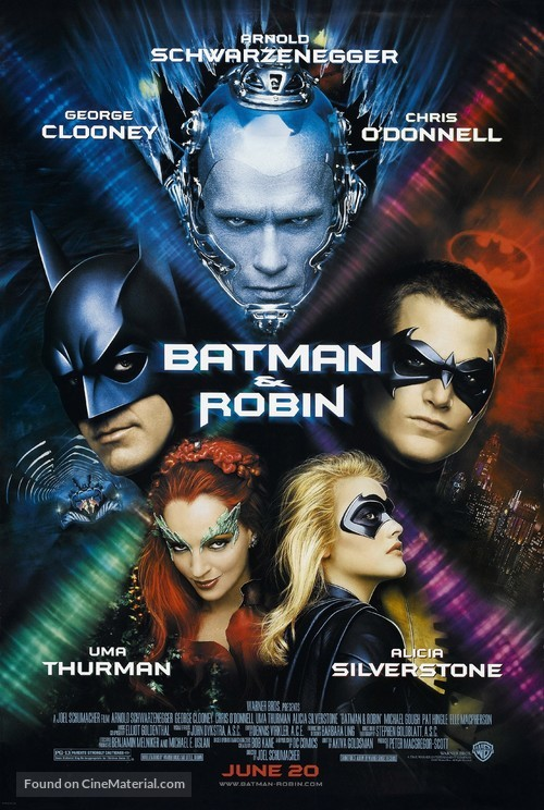 Batman And Robin - Advance poster