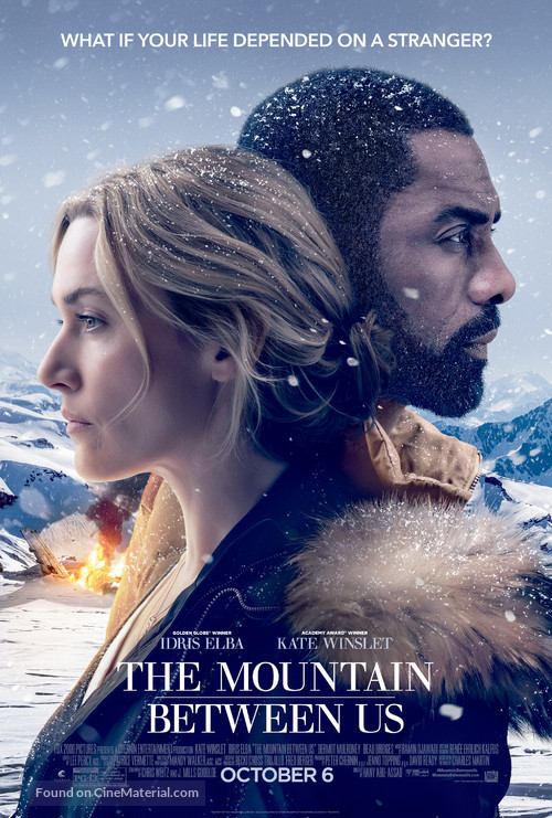 The Mountain Between Us - Movie Poster