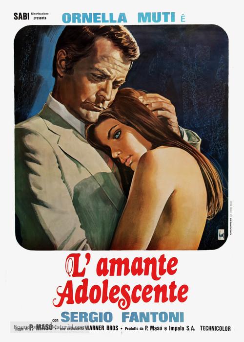 Una chica y un señor - Italian Movie Poster