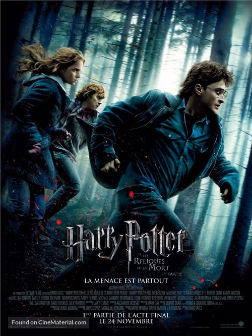 Harry Potter and the Deathly Hallows: Part I - French Movie Poster