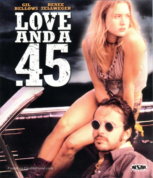 Love and a .45 - Austrian Blu-Ray movie cover