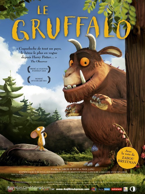 The Gruffalo - French Movie Poster