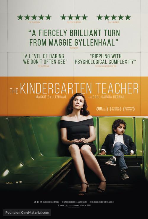 The Kindergarten Teacher - British Movie Poster
