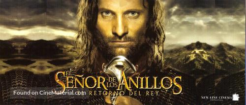 The Lord of the Rings: The Return of the King - Argentinian Movie Poster