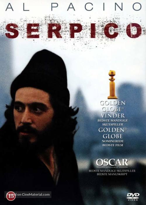 Serpico - Danish Movie Cover