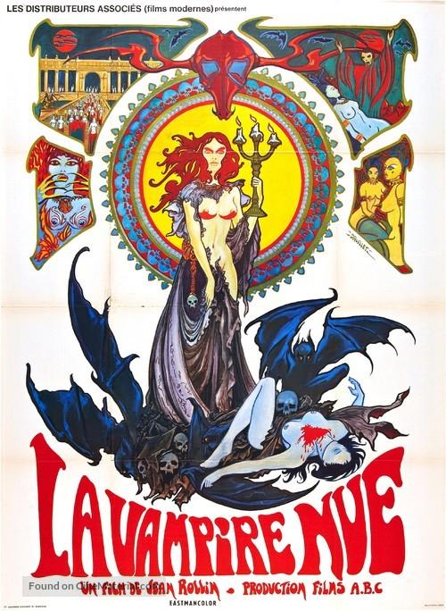 La vampire nue - French Movie Poster