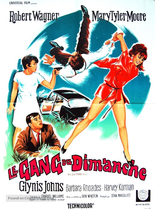 Don't Just Stand There! - French Movie Poster