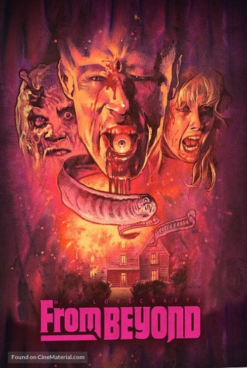 From Beyond - German Blu-Ray cover