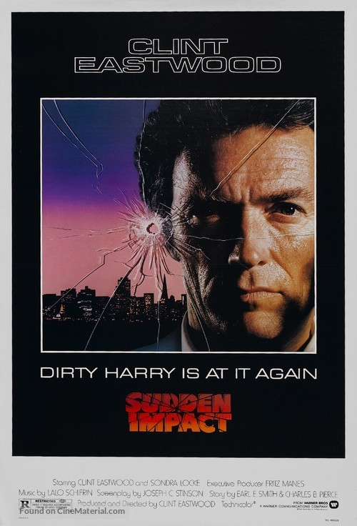 Sudden Impact - Movie Poster