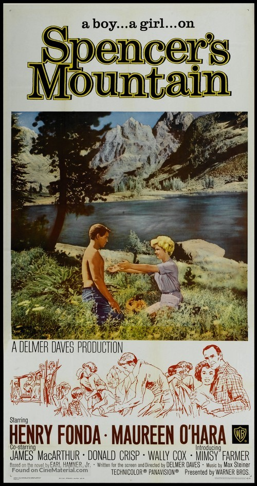 Spencer's Mountain - Movie Poster