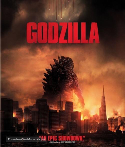 Godzilla - Blu-Ray movie cover