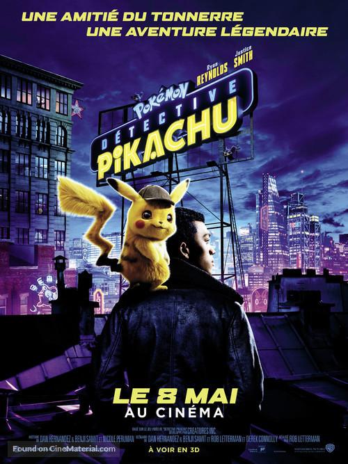Pokémon: Detective Pikachu - French Movie Poster