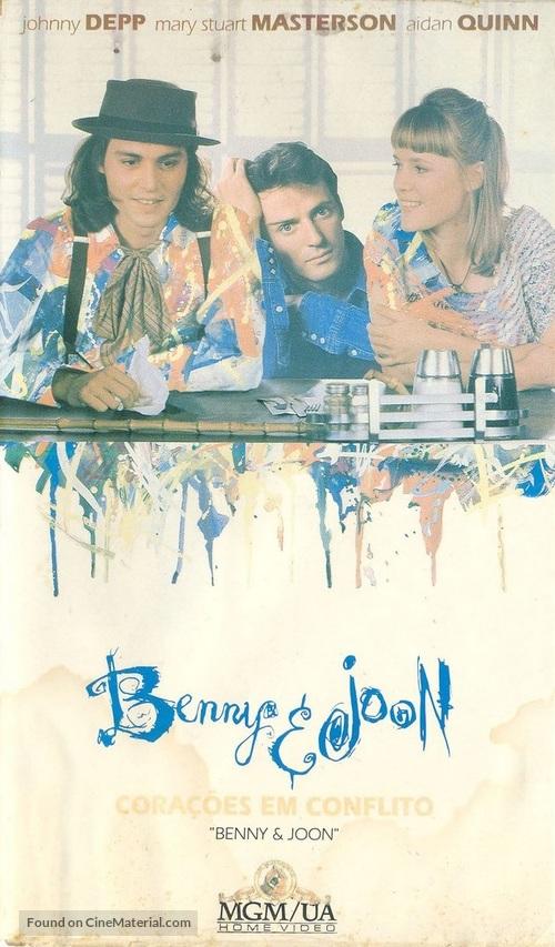Benny And Joon - Brazilian Movie Cover