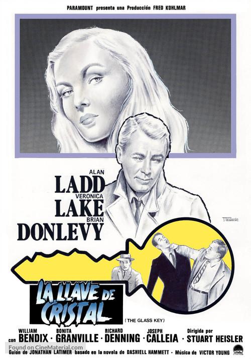 The Glass Key - Spanish Movie Poster