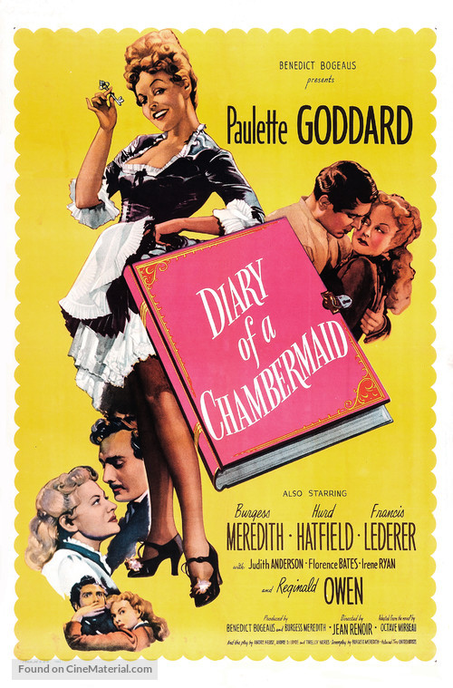 The Diary of a Chambermaid - Movie Poster