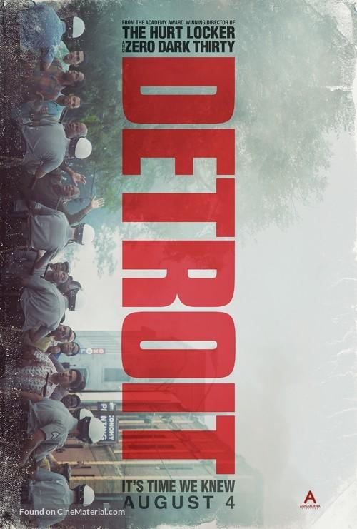Detroit - Movie Poster