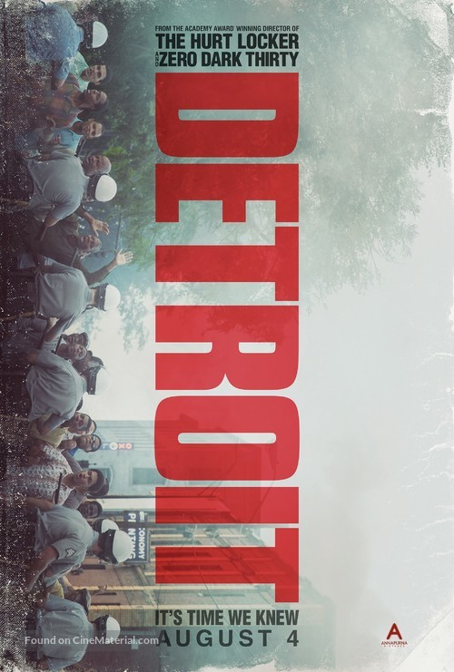 Detroit - Movie Poster