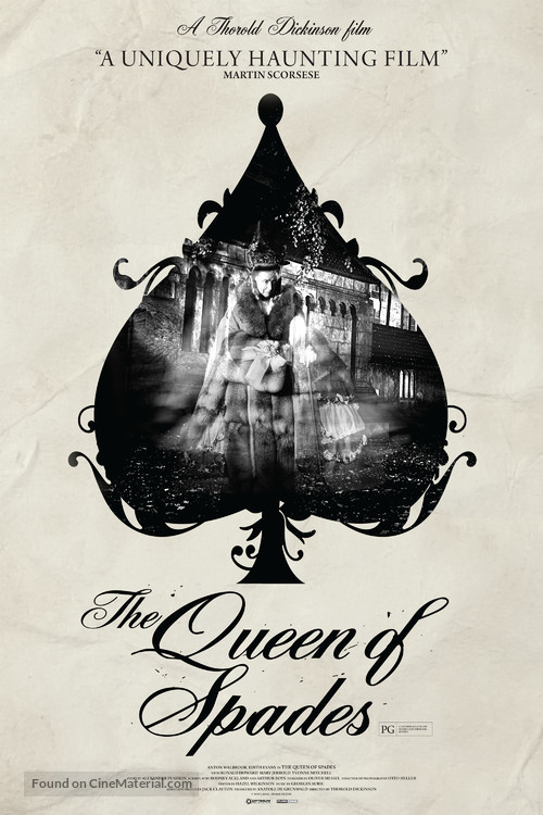 The Queen of Spades - British Movie Poster
