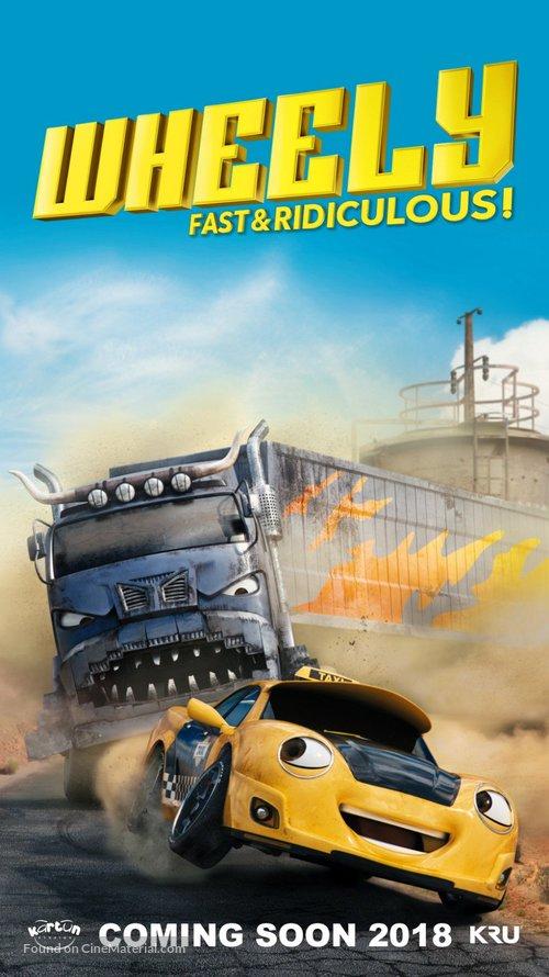 Wheely - Malaysian Movie Poster