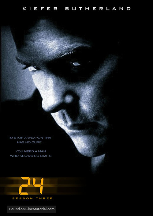 """24"" - DVD cover"