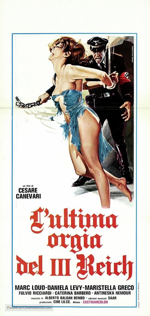 L'ultima orgia del III Reich - Italian Movie Poster