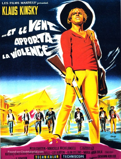 E Dio disse a Caino - French Movie Poster