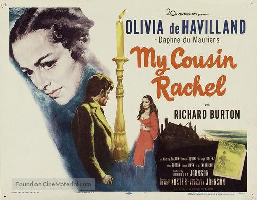 My Cousin Rachel - Movie Poster